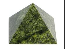 Пирамида Змеевик, Россия, Урал (62*62*44 мм, 154 г) №20675
