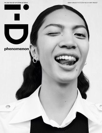i-D Magazine Issue 358 The Get Up Stand Up. Noah Иностранные журналы Photo Fashion, Intpressshop