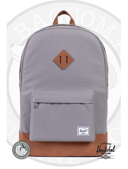 Herschel Heritage Gray/Tan Synthetic Leather
