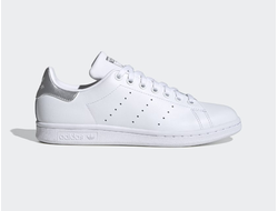 Adidas Stan Smith White/Silver бело-серебряные
