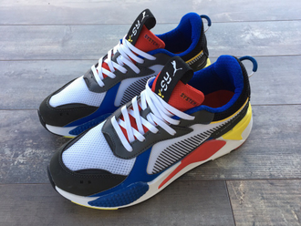 Кроссовки Puma RS-X Black/Red