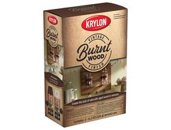 Krylon Vintage Finish Burnt Wood