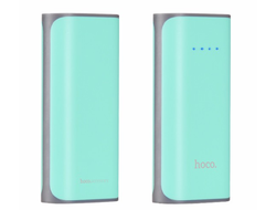 Power Bank HOCO B-21 (Мятный 5200mAh)