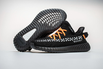 Adidas Yeezy Boost x OFF-White Black Orange