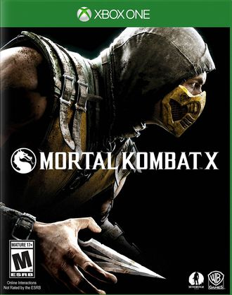 игра для xbox one Mortal Kombat X