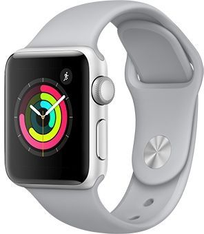 APPLE WATCH SERIES 3 42MM SILVER ALUMINIUM WITH FOG SPORT BAND