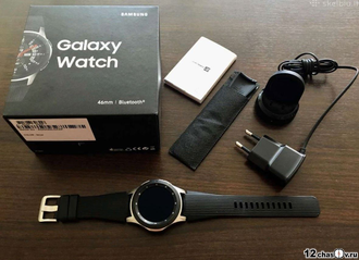 Умные часы Samsung Galaxy Watch (46 mm) Silver