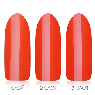 Гель-лак Shellac Bluesky №80577/90514 Electric Orange, 10мл.