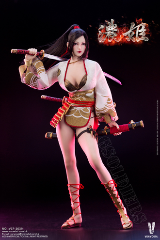 Японская девушка-воин ФИГУРКА 1/6 scale Ancient Japanese Heroine Series Nōhime (VCF-2039) - VERYCOOL