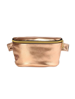 Сумка Mi Pac Gold Slim Bum Bag Metallic Rose Gold