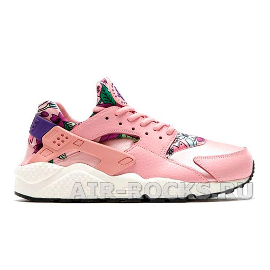 9c2f4fcc Купить кроссовки Nike Air Huarache Floral Pink дешево | Интернет-магазин  Розовые Найк Эйр Хуарачи в Москве