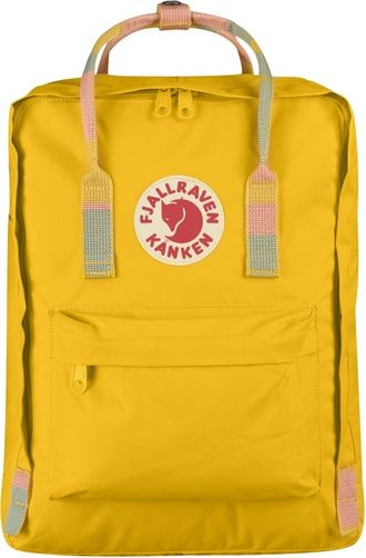 Рюкзак Fjallraven Kanken Yellow-Random Blocked (Mini)
