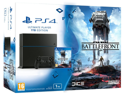 PlayStation 4 (1TB) (РСТ)+Star Wars: Battlefront