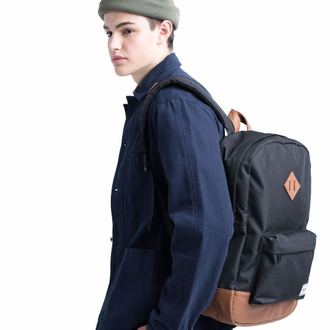 Рюкзак Herschel Heritage Gray/Tan Synthetic Leather