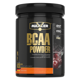 (Maxler) BCAA Powder 2:1:1 Sugar Free - (420 гр) - (апельсин)