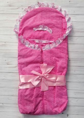 Конверт для выписки (Артикул 27-1-6Ш) цвет розовый
