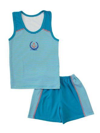 Комплект для мальчика (Артикул 2132-453) цвет лазурный