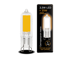 Gauss LED T13 3.5w 830/840 AC220-240v G9