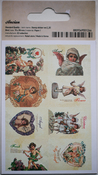 "Наклейки ""Lovely Stamps. Angel"""