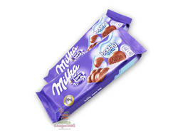 Молочный пористый шоколад Milka из Европы! Интернет- магазин европейских сладостей SweetBit