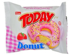 Пончик Today Donut Клубника 50г