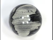Шар Яшма серебряная, ЮАР (40 мм, 94 г) №20829