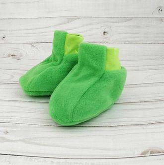Пинетки (Артикул 6128-522) цвет зеленый