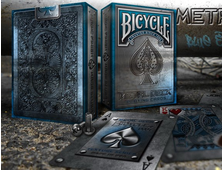 Bicycle Blue Rider Back Metal Deck