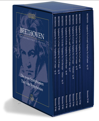 Beethoven The Nine Symphonies (9 study scores in a boxed set)