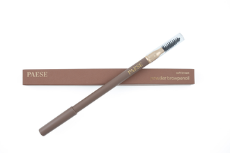 Пудровый карандаш для бровей (Soft Brown) Powder Brow Pencil Paese