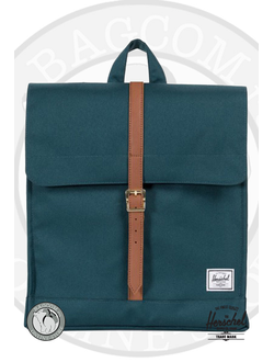 Herschel City Mid Volume Deep Teal