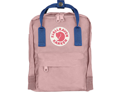 Рюкзак Fjallraven Kanken Pink/Un Blue (Mini)