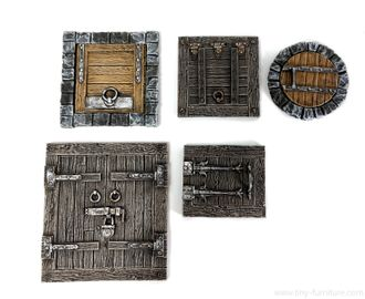 Hatches and trapdoors (PAINTED)