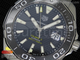 Aquaracer Calibre 5 Black SS Swiss Sellita SW200
