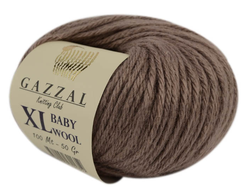 Gazzal Baby Wool XL 835 мокко