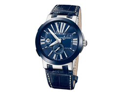 Executive Dual Time Blue 243-00/43