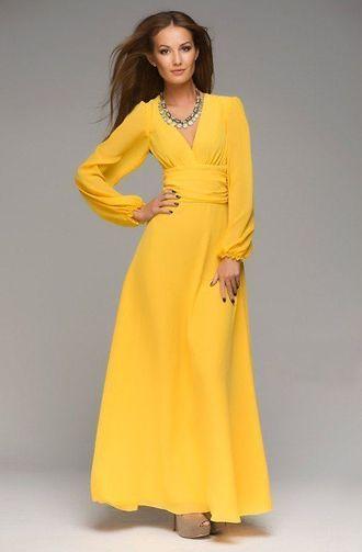 a97f5a7ce67babf Желтое вечернее платье - купить в интернете Украина, Львов