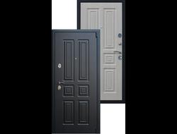 Стальная дверь «Атлант» Беленый дуб
