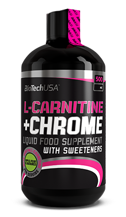 BioTechUSA L-CARNITINE + CHROME