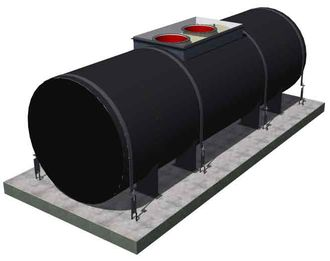Резервуар подземный стальной РГСП 50 м3