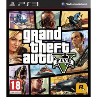 Игра для ps3 GTA 5 Grand Theft Auto 5
