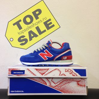 New balance 574 Stadium Jacket Blue