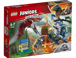 LEGO Juniors Jurassic World Конструктор Побег птеранодона, 10756