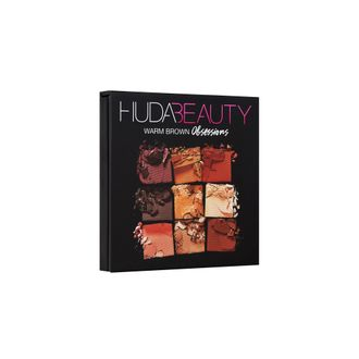 Huda Beauty Obsession Palette Warm Brown - Мини-палетка теней