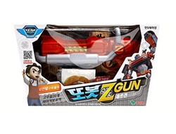 Young Toys TOBOT Z Gun Оружие Зэда Rubber Band Shooting Toy