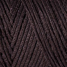 Yarnart Macrame cotton 769 шоколад