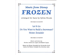 Anderson-Lopez Music from Frozen for harp