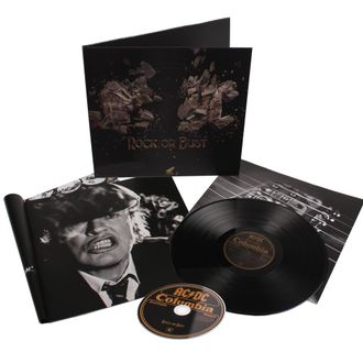 AC/DC Rock or bust 3D LP+CD
