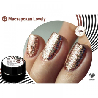 Гель-лак Lovely Shine №S05, 5 ml