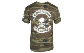 ROGUE INTERNATIONAL SHIRT Футболка Rogue Fitness. Цвет: хаки